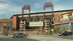 Citizens bank park Stock Footage