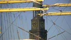 Hafengeburtstag 2011 - stock footage
