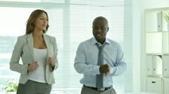 Business dance Stock Footage