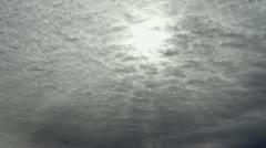 Winter Sun Stock Footage