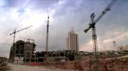 Building Construction - Time Lapse Stock Footage