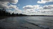 Manly Beach Australia Timelapse 1 Stock Footage