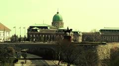 Castle Of Buda 03 stylized Stock Footage