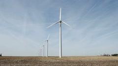 Wind Farm - stock footage