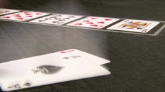 Pocket Aces Stock Footage
