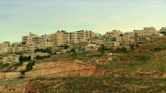 East Jerusalem Arab Village Stock Footage