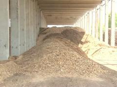Renewable wood biofuel Stock Footage