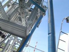 pipeline biodiesel tanker - stock footage