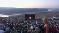 The Gorge Concert Venue Stock Footage