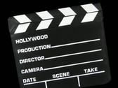 Stock Video Footage of Clapboard Transition