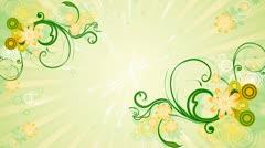 Spring Flourish Background 02 HD Stock Footage