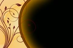 Cinnamon Swirls Flourish Overlay 02 Stock Footage