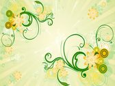 Spring Flourish Background 02 Stock Footage