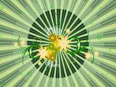 Spring Flourish Wipe Stock Footage
