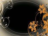 Elegant Blooms Flourish Overlay Widescreen Stock Footage