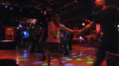 People Dancing at Nightclub Stock Footage