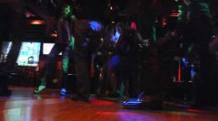 Late Night Dance Club Time Effect - stock footage