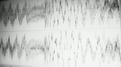 Audio Wave Form 5 Stock Footage