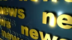 VFHD 0013 The News Presentation - stock footage
