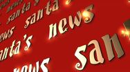 Stock Video Footage of VFHD 0612 Santa's News