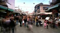 Market Street - Time Lapse Stock Footage