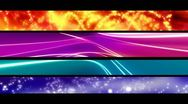 Stock Video Footage of Abstract Looping Lower Thirds R22Five