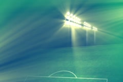 Soccer Stadium Intro Widescreen - stock footage
