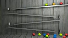 Kinect art Stock Footage