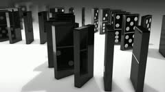 Domino Stock Footage