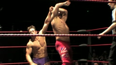 TNA Wrestling's Doug Williams - Uppercuts and Wristlock HD - stock footage