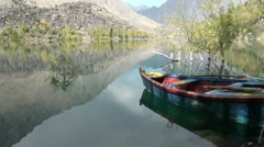 Kachura lake - Northern Pakistan - stock footage