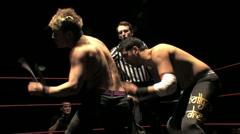 Pro Wrestling Move - Headlock HD Stock Footage