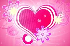 Retro Hearts Background 02 Stock Footage