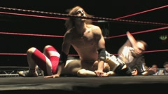 Pro Wrestling Move - Spinebuster HD - stock footage