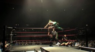 3 Way Pro Wrestling Sequence 2 HD Stock Footage