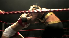 Women's Wrestling - Lockup HD - stock footage