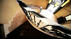 Ethnic Bride Luxury Home  Stock Footage