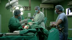 Surgical Operations Stock Footage