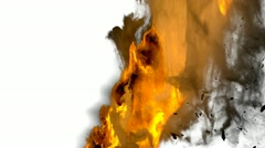 Fire transition Stock Footage