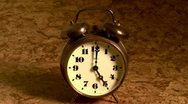 Alarm clock Stock Footage