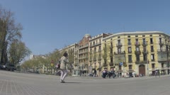 CLIP2 Eixample Stock Footage