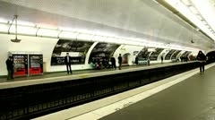 Metro station Stock Footage