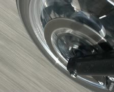 Motorcycle front tyre highspeed - SD PAL Stock Footage
