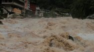 Stock Video Footage of Raging River Rapids of rio Urubamba