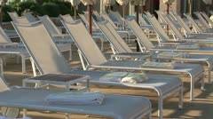 Monte Carlo Bay Hotel pool - stock footage