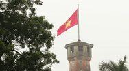 Vietnam flag Stock Footage
