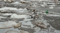 Water Pollution Stock Footage