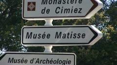 Matisse Museum - stock footage