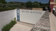 Stock Video Footage of Matisse Museum