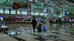 Changi International Airport Singapore Stock Footage